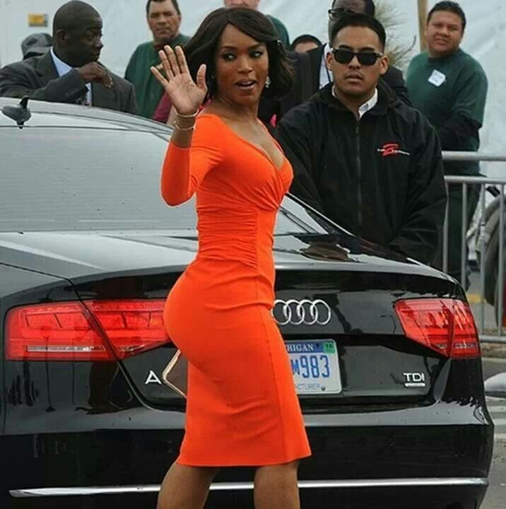 Motivation... Angela Basset is almost 30 years older than me!