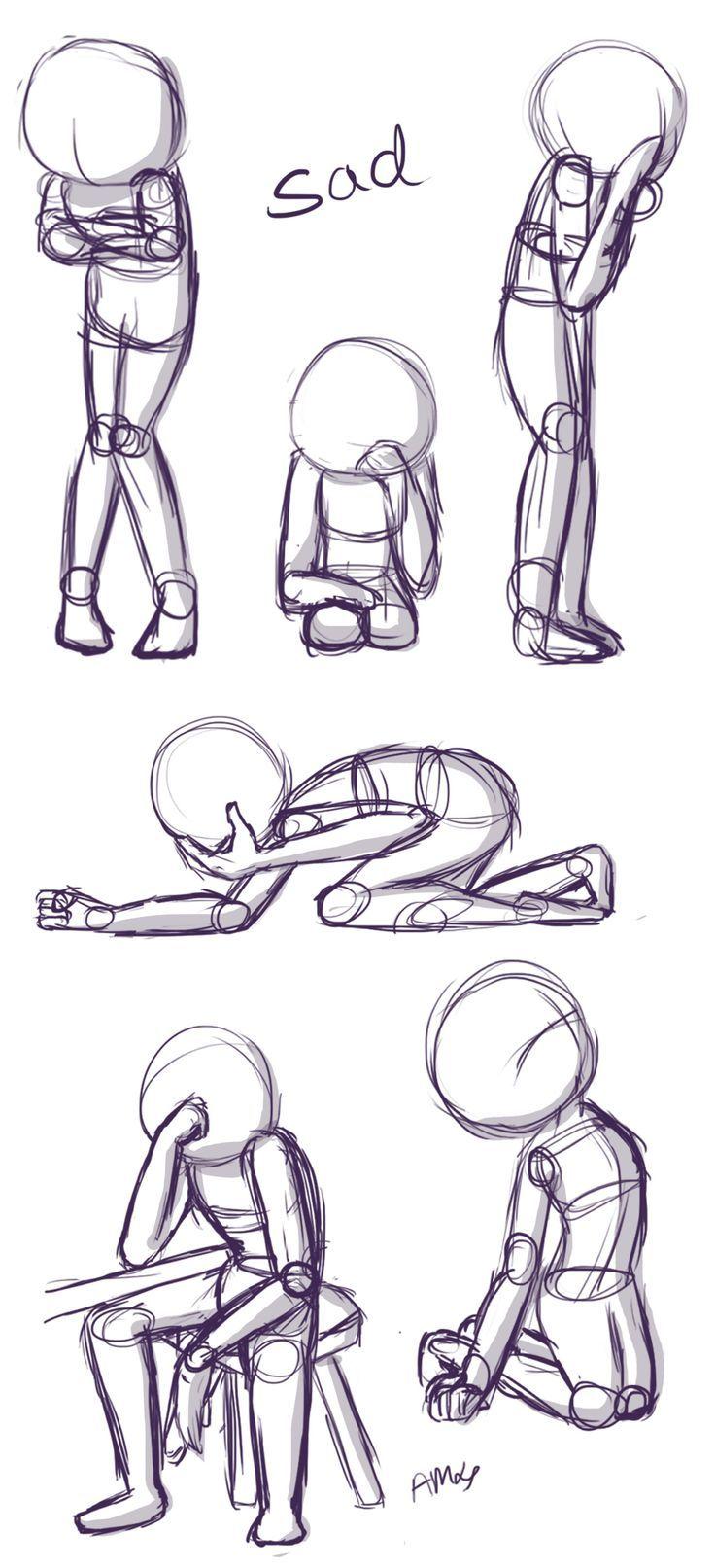 Traurige Posen: Dies ist eine kurze Übersicht üb…