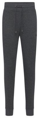 Hugo Boss Long Pant Cuffs Cotton Drawstring Sweat Pants M Grey