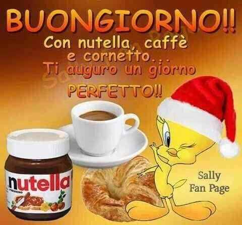 Nutella e caffè