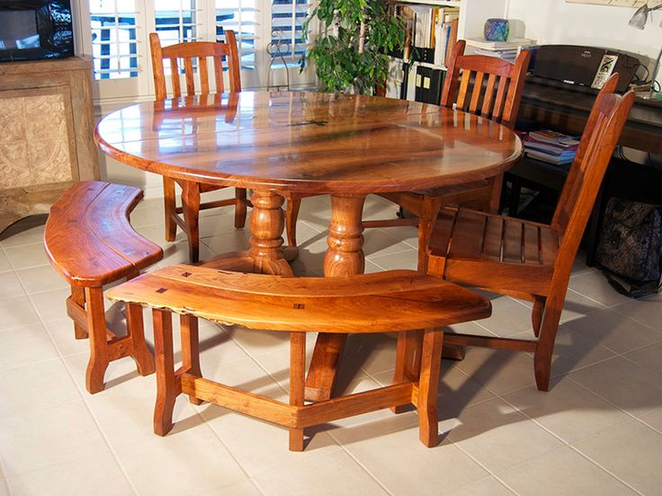 Round+table+benches | Mesquite Round Table And Benches800