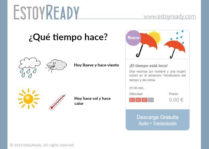 Español - ¡El tiempo está loco!