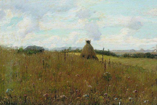 Константин Крыжицкий. Поле. 1891