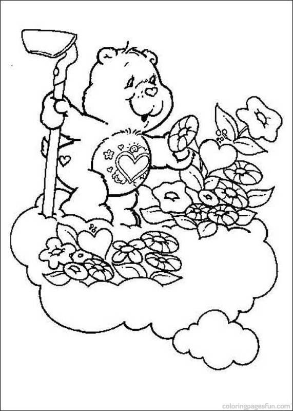 Care Bears Coloring Pages 2