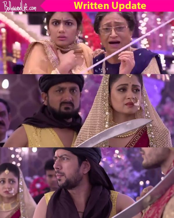Kumkum Bhagya 24th August 2017 Written Update Of Full Episode: Sangram takes the family hostage, Abhi gets a hint of Aliya's… #FansnStars