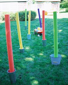 Obstacle Course Birthday Party - Martha Stewart Kids' Birthday Parties {I'm making
