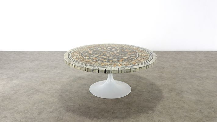Brutalist Coffee Table By Heinz Lilienthal 1970s For Sale At