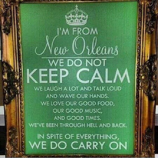 We do not Keep Calm... In spite of everything we do Carry On