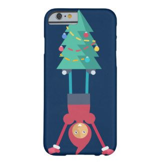 Elf with pine tree barely there iPhone 6 case