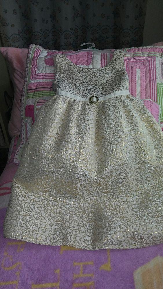 JENNY & ME SPRING DRESS Girls GOLD OFF WHITE Sleeveless , 6X FREE SHIPPING! | Clothing, Shoes & Accessories, Kids' Clothing, Shoes & Accs, Girls' Clothing (Sizes 4 & Up) | eBay!