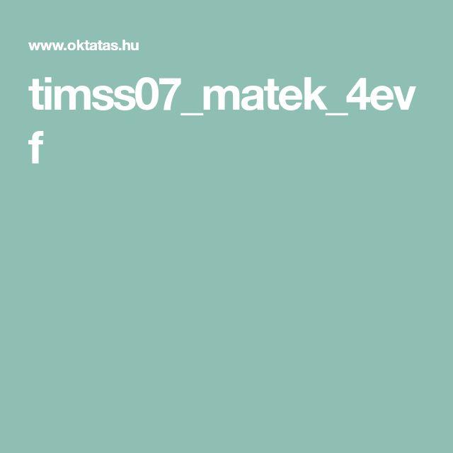 timss07_matek_4evf