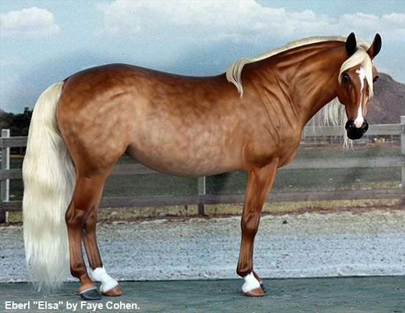 Wow! Ansata Custom Model Horses | Equine.com