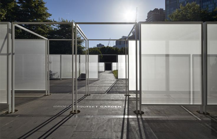Gallery of Garden Wall Pavilion / Retallack Thompson & Other Architects – 13