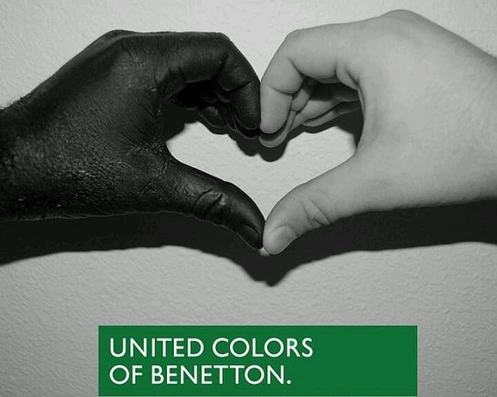 No racism - Benetton