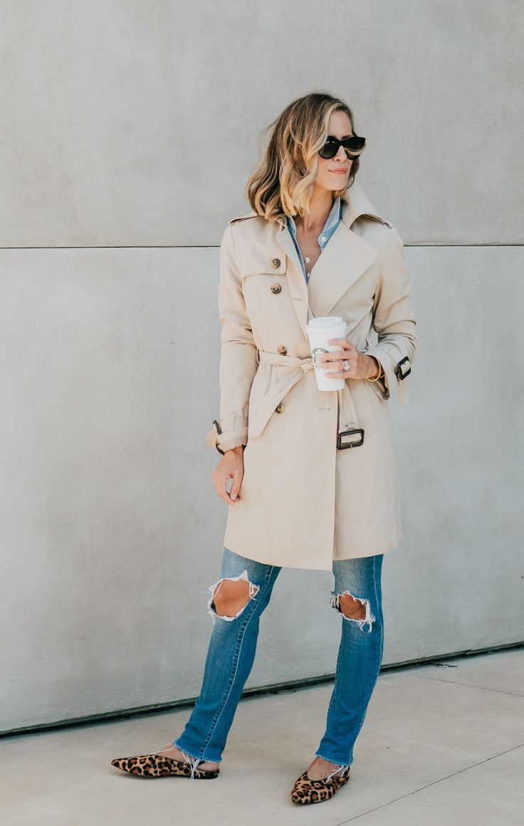 How To Dress Down A Trench Coat For Fall My Kind Of Sweet Fall Fashion Coats Trench Coat Outfit Coat Dress [ 1160 x 736 Pixel ]