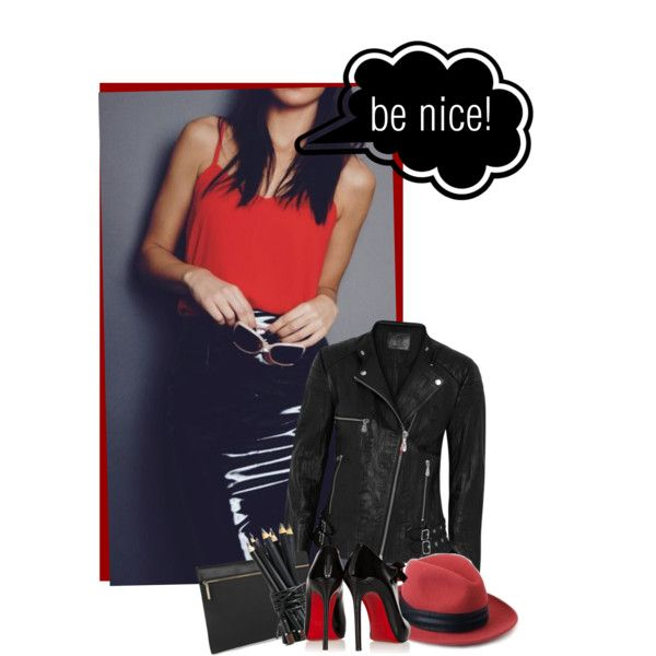 A fashion look from December 2014 featuring black quilted jacket, high heel bootie e victoria beckham handbags. Browse and shop related looks.