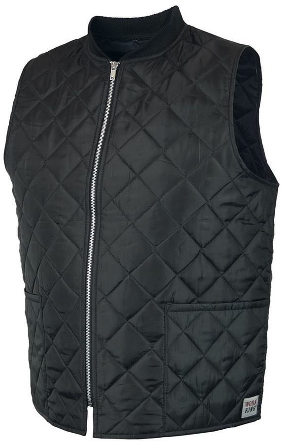 Men's Work King Quilted Freezer Vest
