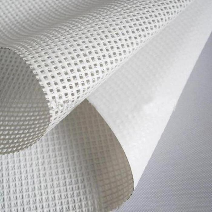 126 Fiberglass Mesh Mesh Banner Pvc Fabric