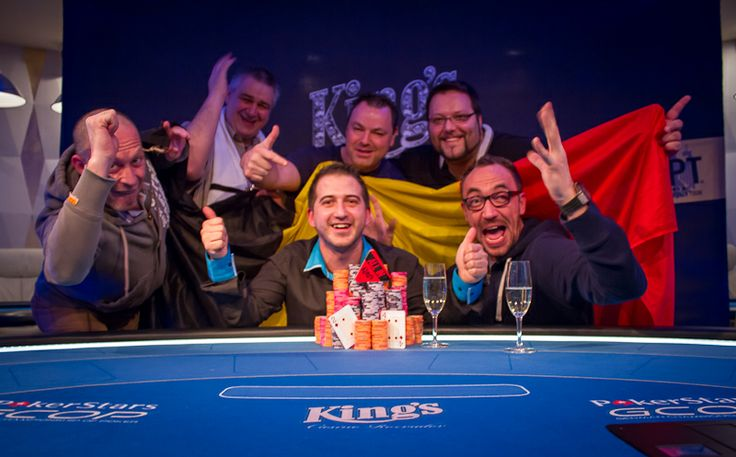 Leandro Gaone, Belgium, Winner of the Birthday Tournament Week Main Event 2013 at King's Casino.   #Poker #KingsCasino #Rozvadov #CzechRepublic #LeandroGaone #Belgium