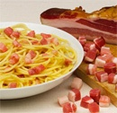 Spaghetti alla carbonara. A classic Italian dish and one of my favorites!