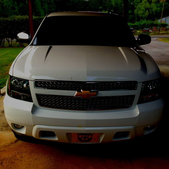 Chevy Tahoe 2012. The only type of SUV I can ever imagine driving