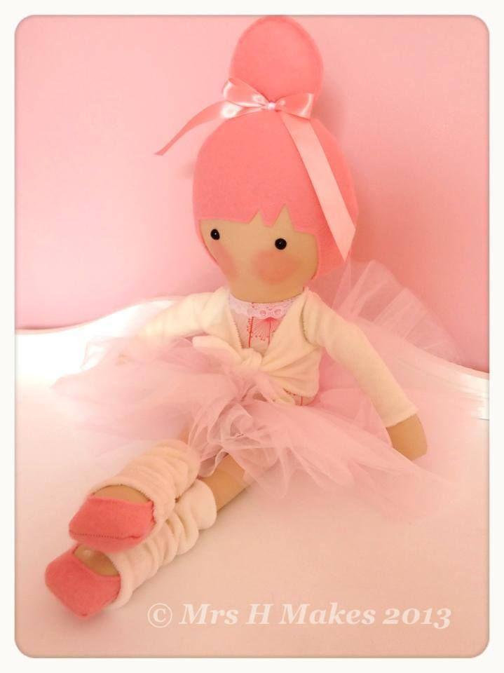 Image of Custom made Large Doll ~ BALLERINA