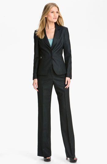 Women business suit fetish