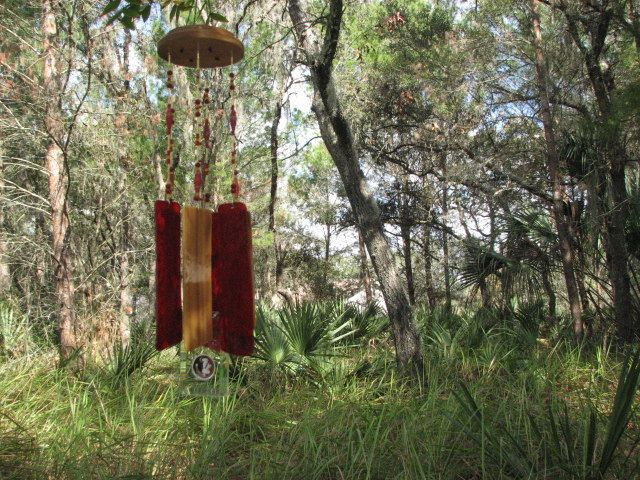 Florida State University Seminole Wind Chime by TeamGlassCharmChimes on Etsy