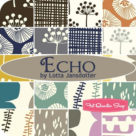 Echo by Lotta Jansdotter...love this line.  I want to make curtains with some of this!