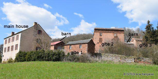 Hameau entier Vallée du Tarn à vendre