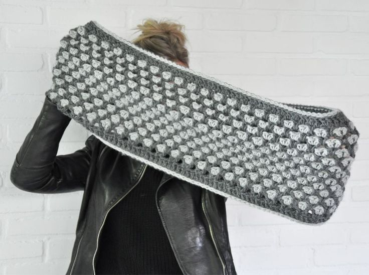 Crochet Cowl - Tutorial ❥ 4U hilariafina  http://www.pinterest.com/hilariafina/