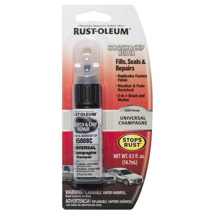 Rust-Oleum Automotive 0.5 oz. Universal Champagne (Beige) Scratch and Chip Repair Marker (Case of 6)
