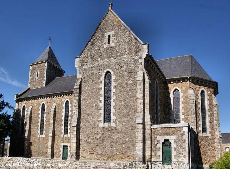Église St-Solenn, à Saint-Solenn.