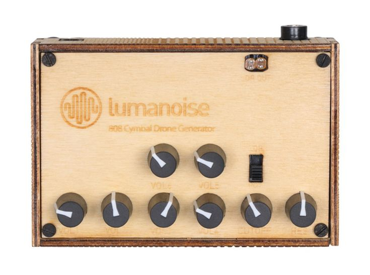 DRONE SYNTH Lumanoise 808 Desktop Synth SYNTHESIZER
