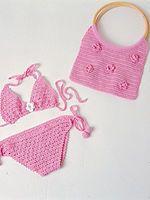 Graficos y Crochet: bikinis