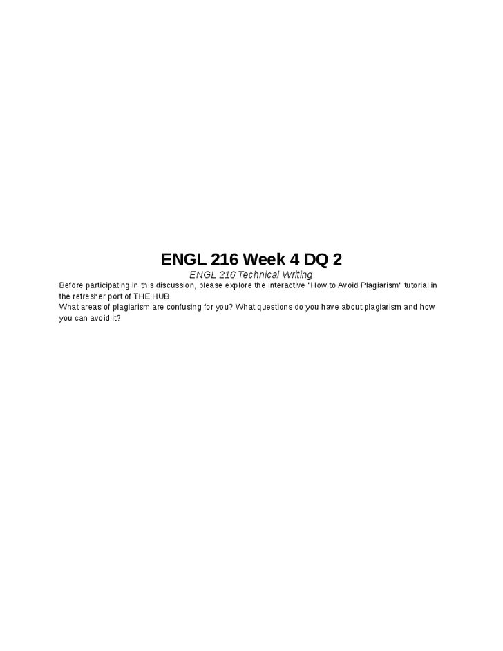 ENGL 216 Week 7 Final Report ENGL 216 Technical Writing - technical writer cover letter