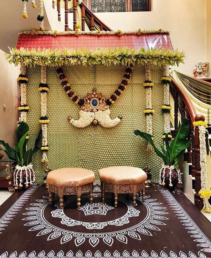 Decor ideas for your Intimate Indian Home Wedding 💗 in