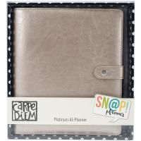 Simple Stories Carpe Diem A5 Planner - Platinum
