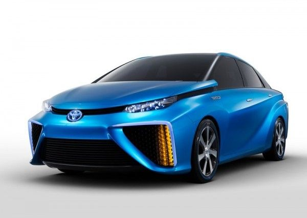 2013 Toyota FCV Concept Redesign 600x426 2013 Toyota FCV Reviews