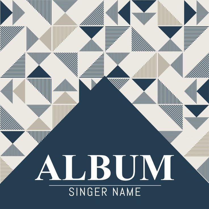 30 best Album Cover Templates images on Pinterest Templates - cover template