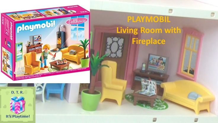 PLAYMOBIL 5308 Living Room with Fireplace ♡ DISNEY TOY REVIEWS DTR