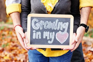 Instead of Maternity Pic its an Adoption pic!  Love this!  Maybe someday I'll take pics of an adopting couple!