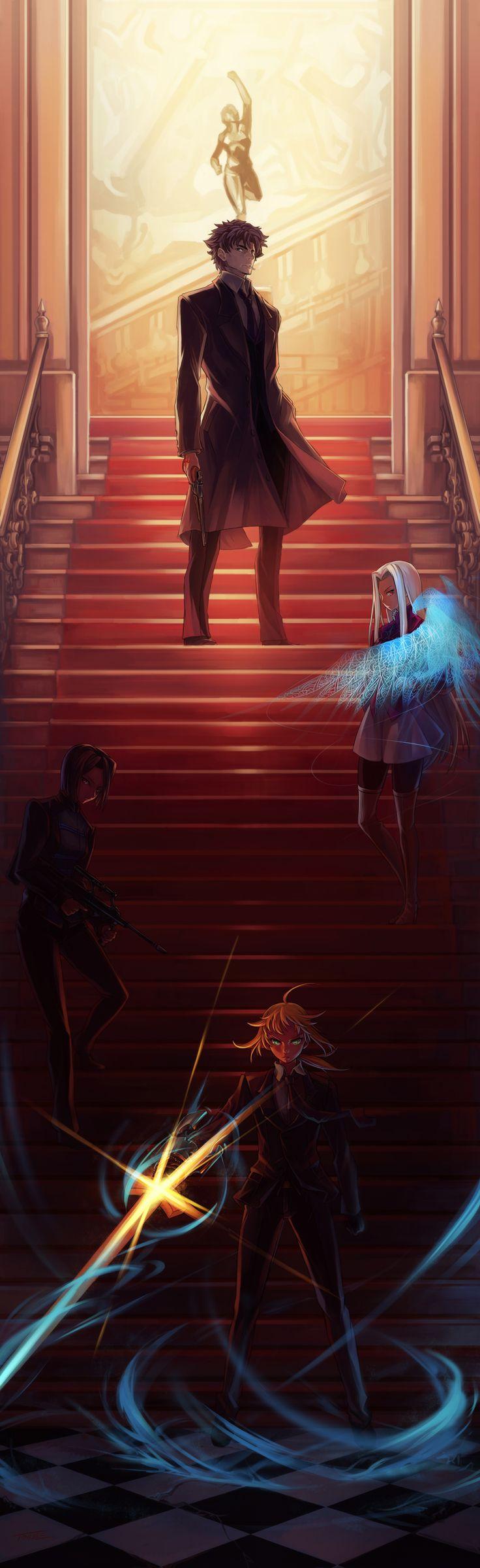 Fanart, Saber (Fate/stay night), TYPE-MOON, Pixiv, Emiya Kiritsugu, Irisviel von Einzbern, Fate/zero, Hisau Maiya.