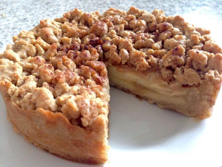 Veganer Apfelmus-Streusel-Kuchen