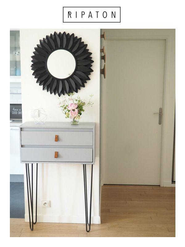 Atelier Ripaton France — Pied en épingle Créez des meubles authentiques qui nous ressemblent est plus