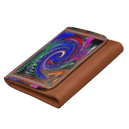 Leather Wallet TEMPLATE DIY add TEXT IMAGE WAVE 99