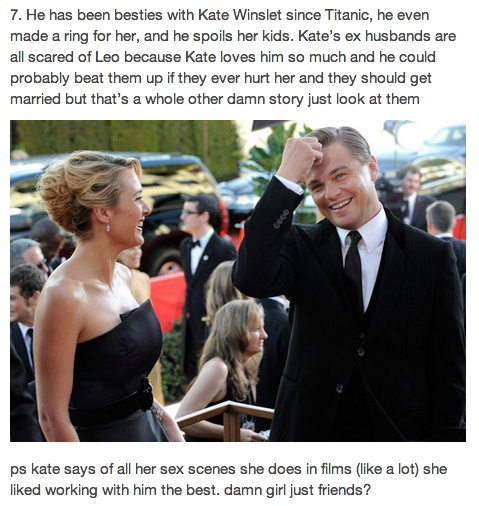 We need Kate. We need Leo. And we need them now.