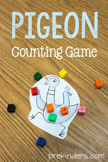 Pigeon Counting Game for Pre-K