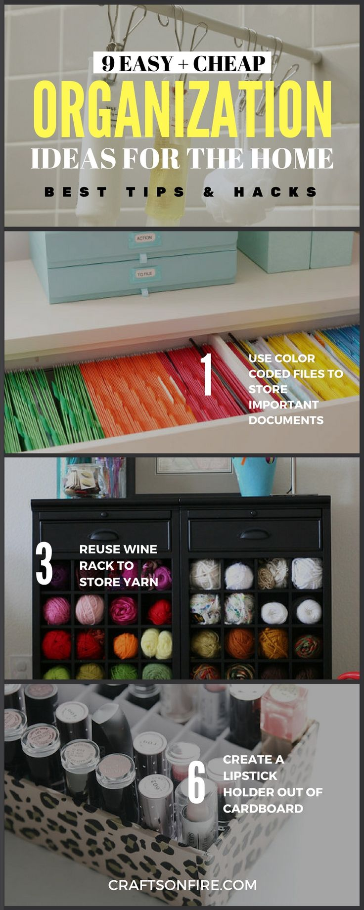 9 Ways To Organize Your Home In