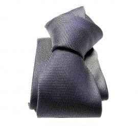 cravatta seta blu grigia tinta unita cravatte blu cangiante cerimonia made italy